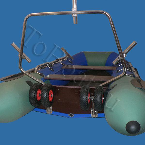 Колеса для лодки амфибалт