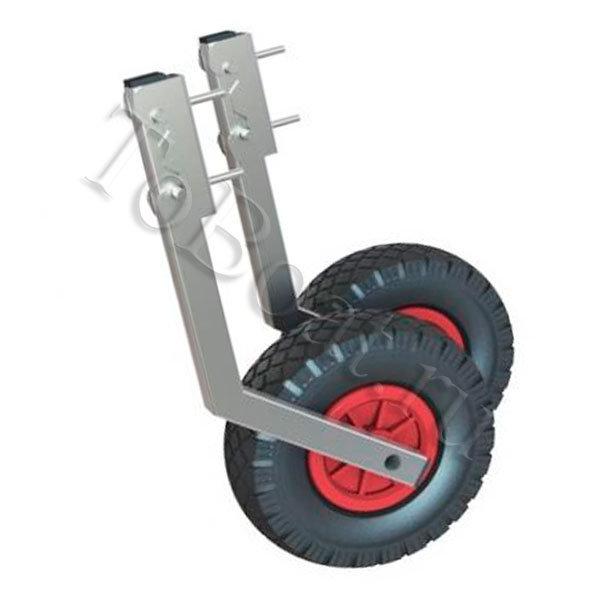 конструкция транцевых колес на пвх