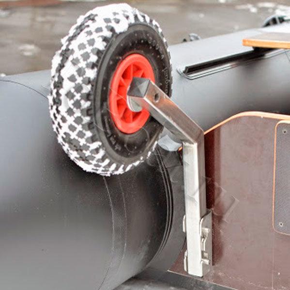 выбрать транцевые колеса